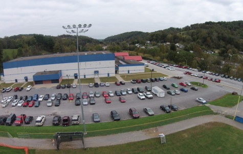 JROTC Cadets took this aerial shot of the school using their QuadCopter Drone  October 8.