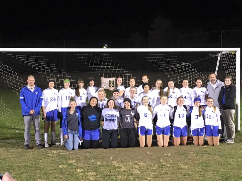 The LCHS Girls' Soccer players captured their first-ever regional title and will head to the AAA WV State Soccer Tournament Nov. 6-7 in Beckley.