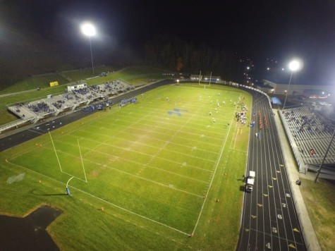 Drone footage from the LCHS v. Elkins game