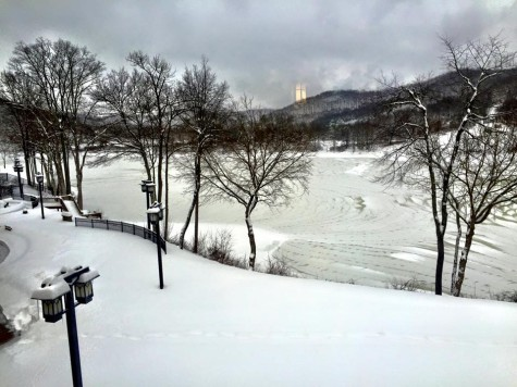 "Snowstorm ""Jonas"" Pounds Community With Snow"