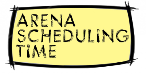 Arena Scheduling Dates, Times Set
