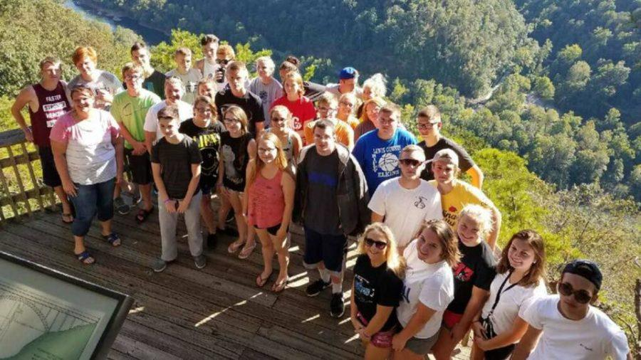 Students 'venture' to Ace Venture for a Tourism, Hospitality and Travel WV field trip.