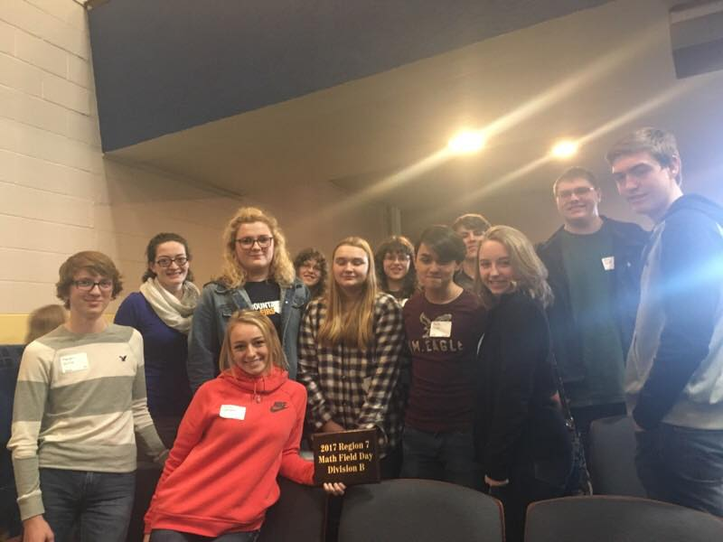 LCHS Math Field Day students take top honors at the 2017 RESA VII competition March 8.