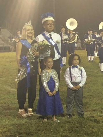 Zheng and Stump Crowned King and Queen