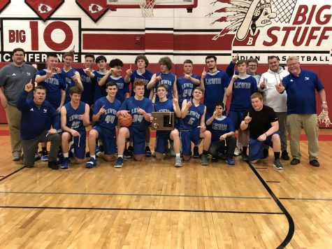 Varsity Boys' Basketball Claims Region II Title