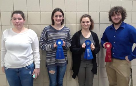 Regional Social Studies Fair competition at Glenville State College