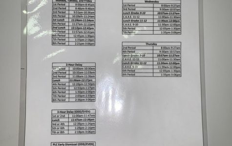 Schedule Changes Come to LCHS