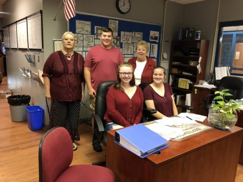 Showing Raider Pride: LCHS staff donned maroon for Alex Miller, a Roane County student who died while playing football.