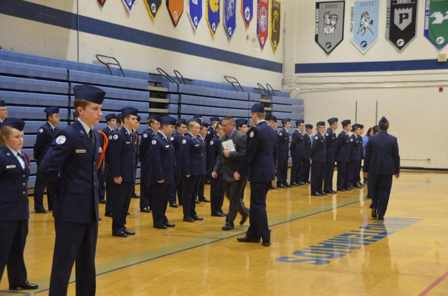 AFJROTC Off to A Successful Flight