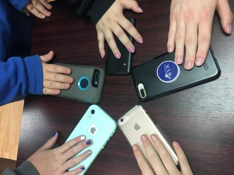 No more phones:  LCHS Students are without cell phones during academic time.