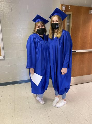 Seniors Get Caps and Gowns
